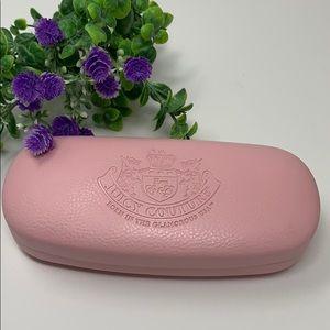 😎 Juicy Couture Eyeglass Case EUC Pink